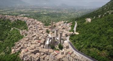 Pacentro lettera commossa dell'interno d'Abruzzo