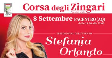 Stefania Orlando Testimonial della Corsa degli Zingari 2019
