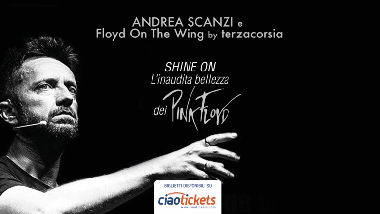 Andrea Scanzi e Floyd On The Wing a Pacentro (AQ)