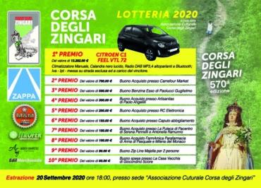 Cambio data per l'estrazione della Corsa degli Zingari 2020